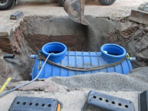 Grease Trap Installation Process.