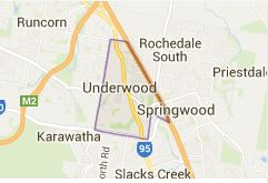 Underwood suburb plumbing district